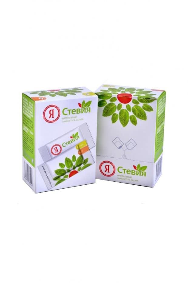 stevia.sashe .50 620x933 - Стевия в пакетиках саше 25 шт. (стевиозид)