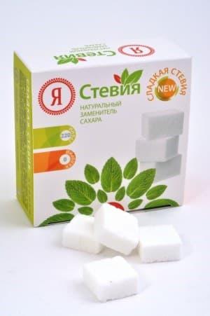 Стевиозид в виде классических кусочков сахара 48 шт.