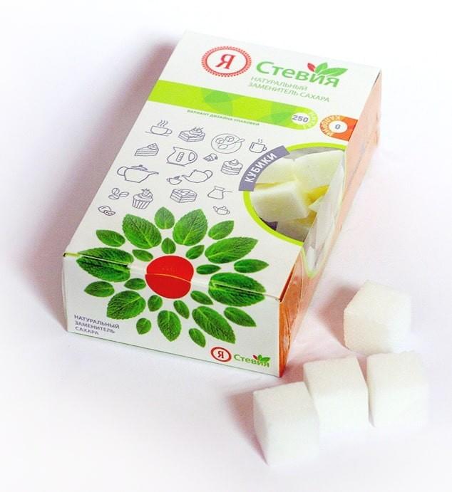 кубики - Ребаудиозид А 97  20 гр. Заменяет 8 кг. сахара